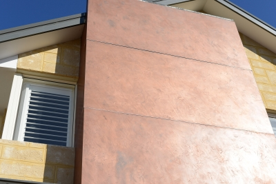 Textured Copper Panels